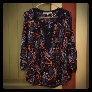 Light flowy floral top